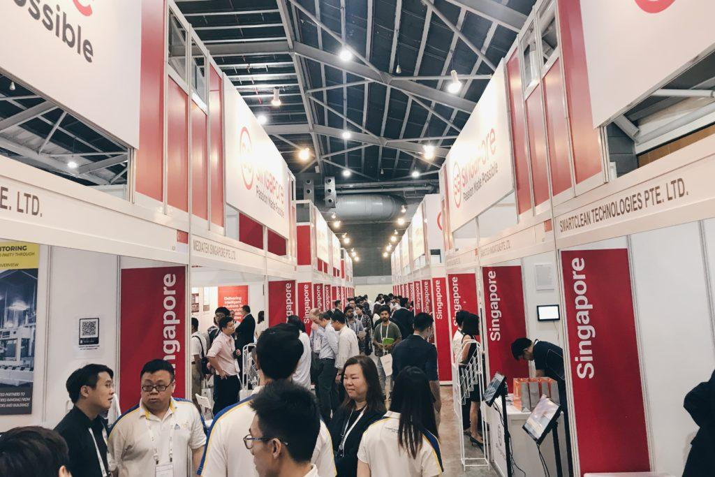IoT Asia 2019 crowd